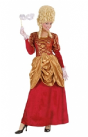 Bordeaux Marquise Medieval Costume (7190)
